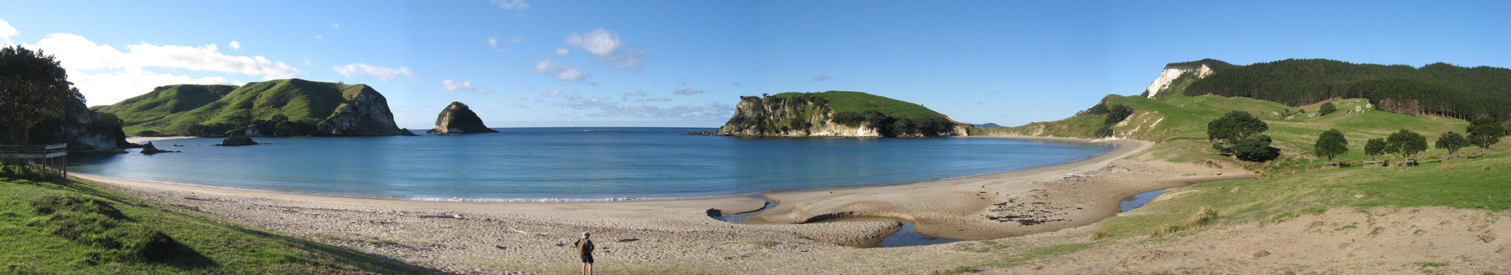 Coralie Bay on Mercury Island,